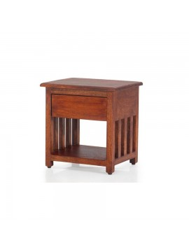 Waxford Side table (Honey) for bedroom