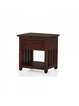 Waxford Side table (Walnut) for bedroom