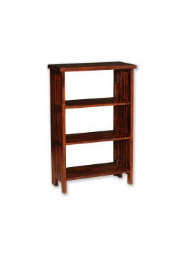 Mallani Solid Wood Folding Shoe Rack | Bookshelf |Removeable self (Honey)