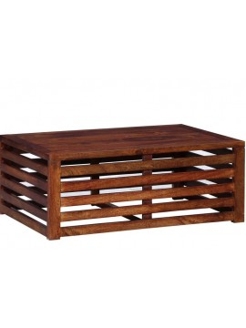 Stripped Design Hollow Coffee table (Teak)