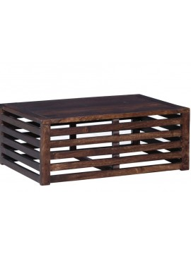 Stripped Design Hollow Coffee table (Walnut)