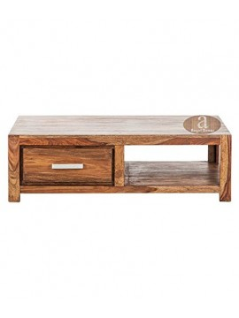 Wallman Storage Coffee table | TV unit | Solid Sheesham Wood | Honey