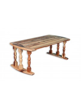 Sheesham Wood Breakfast Serving Bed Table / Laptop Table 24X12X9 Inch LxWxH in Natural Finish